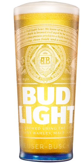 Good We Are Delighted To Announce That The Bud Light (ABV 3.5% ) Is Now  Available At The Club For Just £2.60 A Pint.
